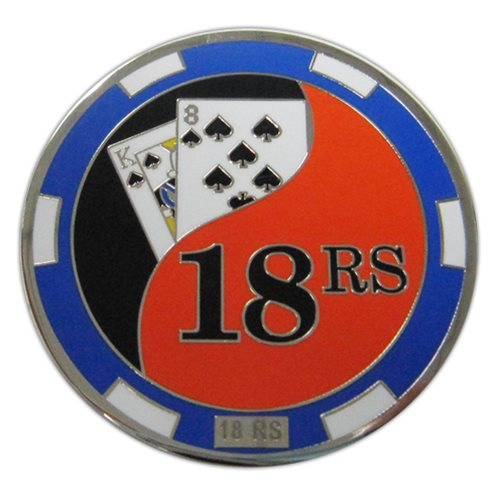 18 RS Challenge Coin - View 2