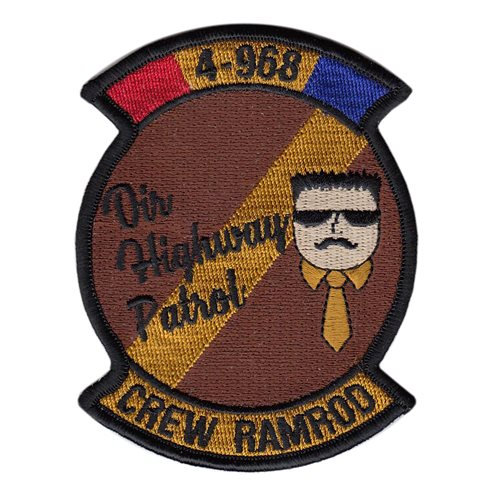 968 EAACS Highway Patrol Patch