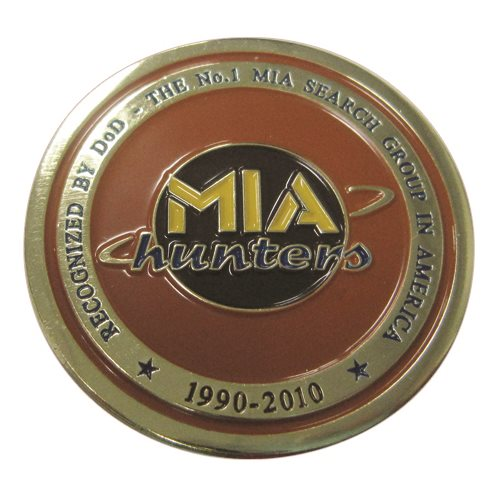 MIA Hunters Coin - View 2