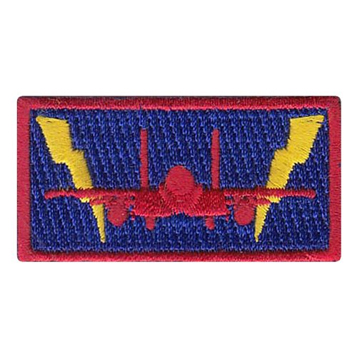 389 FS F-15E Lightning Bolt Pencil Patch