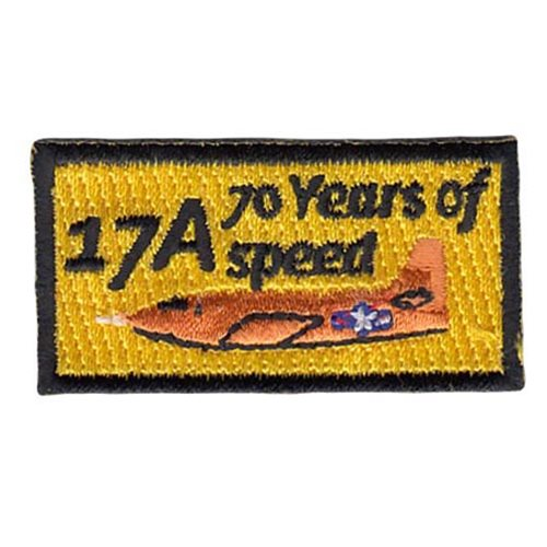 USAF TPS Class 17A X-1 Pencil Patch