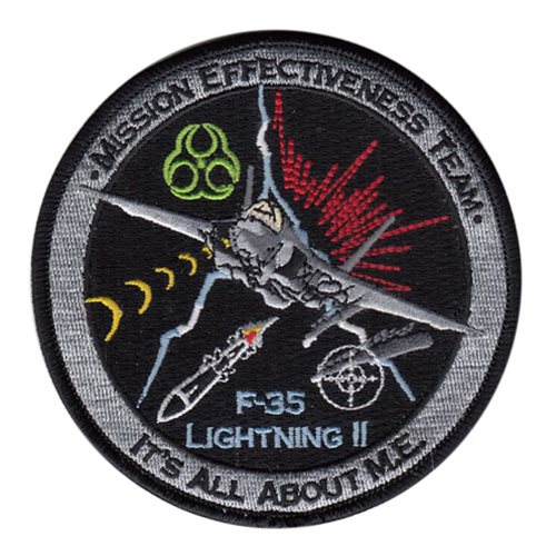 F-35 Mission Effectiveness Team Patch