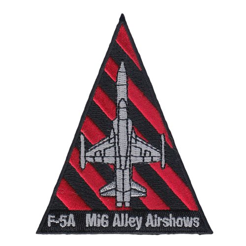 F-5A Mig Alley Airshows Patch