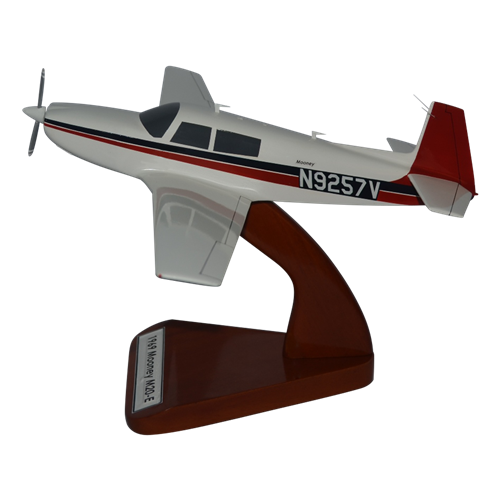 Mooney M20E Custom Airplane Model  - View 2