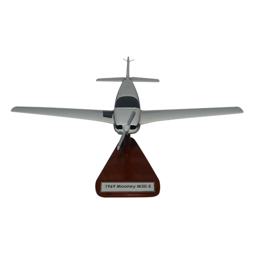 Mooney M20E Custom Airplane Model  - View 3