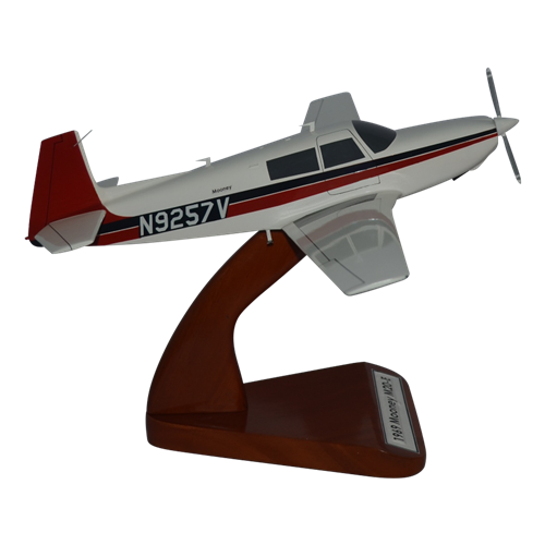 Mooney M20E Custom Airplane Model  - View 4
