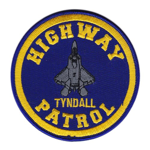 F-22 Highway Patrol Patch
