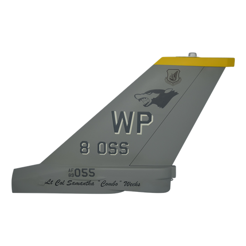8 OSS F-16C Falcon Custom Airplane Tail Flash