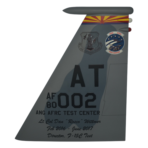 AATC F-15C Eagle Custom Airplane Tail Flash