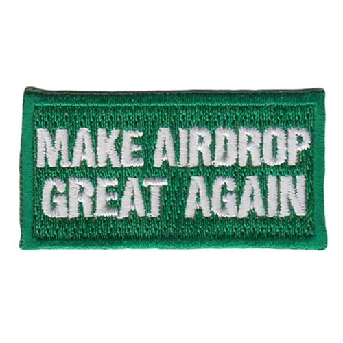 535 AS Make Airdrop Great Again Pencil Patch
