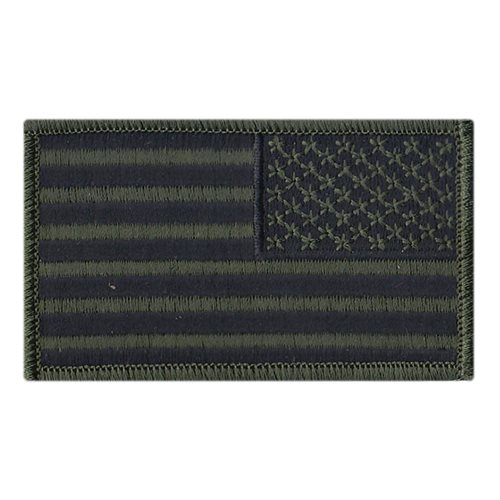 USA Flag Subdued Reverse Patch