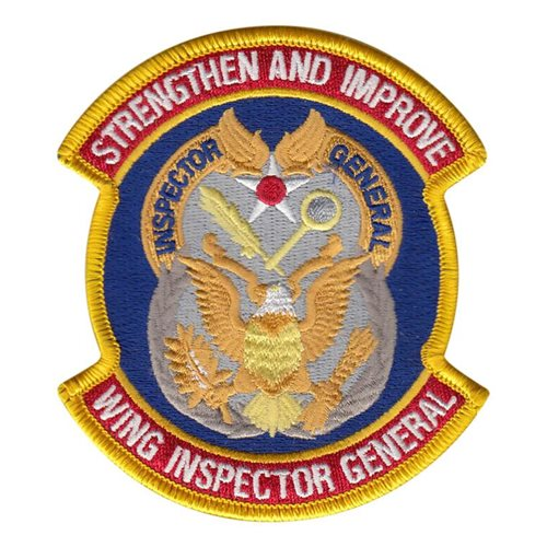 USAF Wing Inspector General Patch