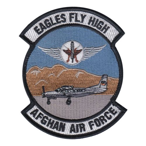 Afghan Air Force Pilots Cessna 208 Patch