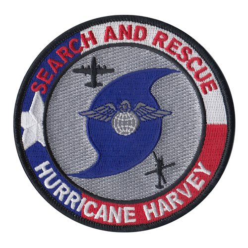 23 WG Flying Hurricane Harvey Patch