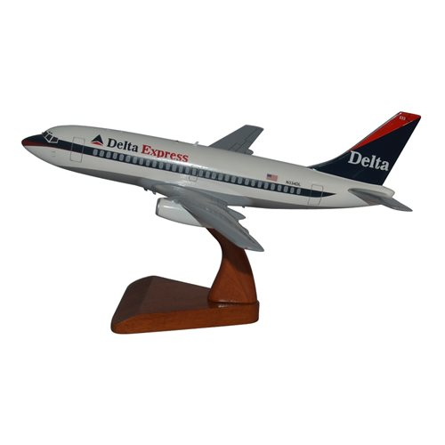 Delta Express Boeing 737-200 Custom Airplane Model - View 2