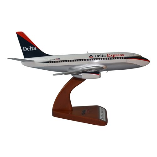 Delta Express Boeing 737-200 Custom Airplane Model - View 4