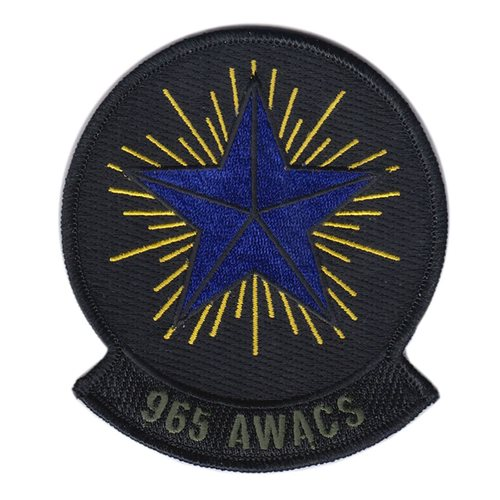965 AACS AWACS Patch
