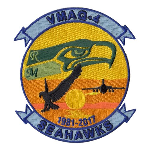 VMAQ-4 EA-6B Sunset Patch