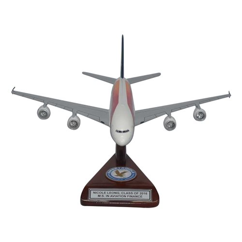 Airbus A380-800 Custom Airplane Model  - View 3