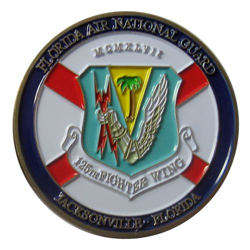125 FW Challenge Coin