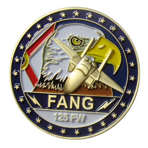 125 FW Challenge Coin - View 2