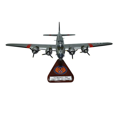 851 BS B-17G Flying Fortress Custom Airplane Model  - View 3