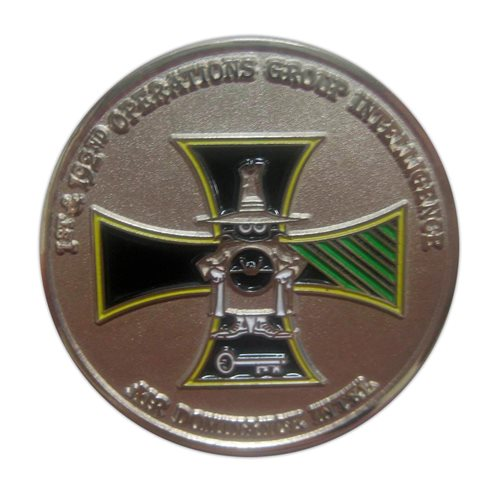1 OGI Custom Air Force Challenge Coin