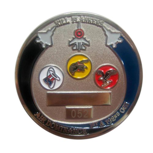 1 OGI Custom Air Force Challenge Coin - View 2