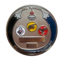 1 OGI Custom Air Force Challenge Coin - View 3