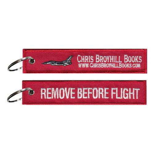 Chris Broyhill Books Key Flag