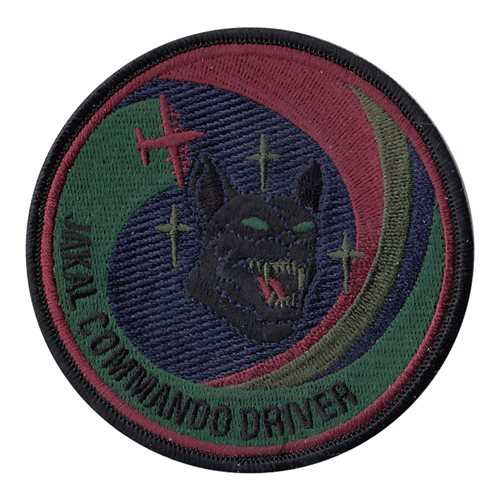 17 SOS Jakal Commando Driver Subdued Patch