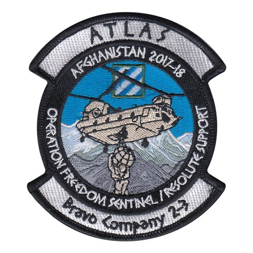 B Co 2-3 AVN Atlas Patch