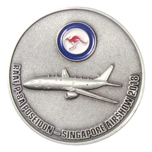 RAAF P-8A Poseidon-Singapore Airshown 2018 Challenge Coin