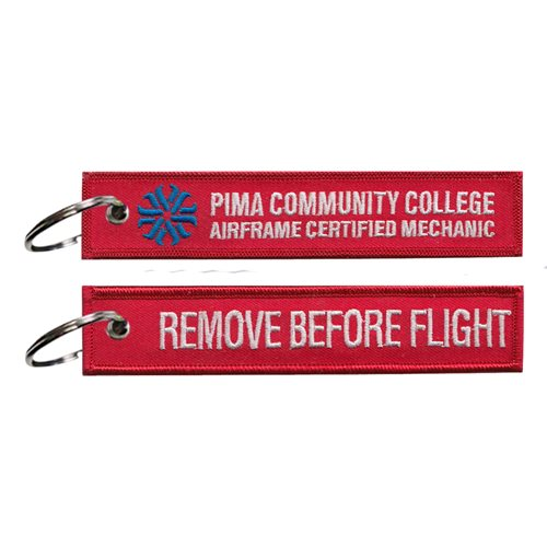 Pima Community College Aviation Center Key Flag
