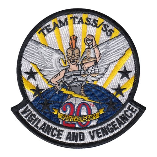 332 ESFS 20th Anniversary Patch