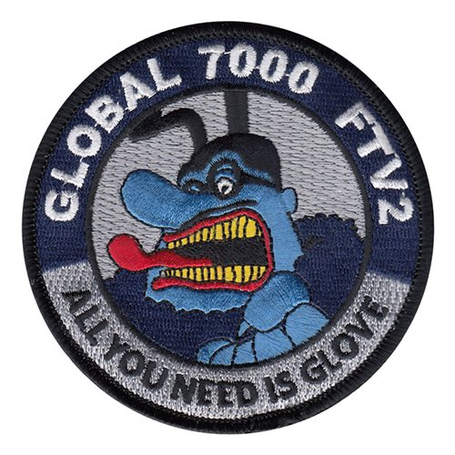 Bombardier Aerospace Global 7000 FTV2 Glove Patch