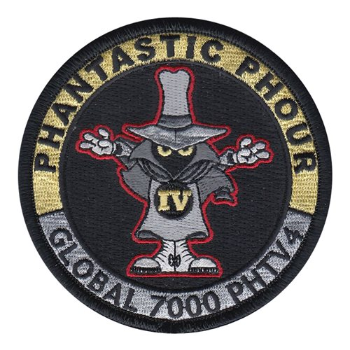 Bombardier Aerospace Global 7000 Phantastic Phour Patch