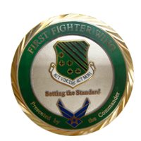 1 FW Custom Air Force Challenge Coin - View 2