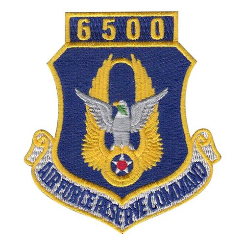 AFRC 6500 Hours Patch
