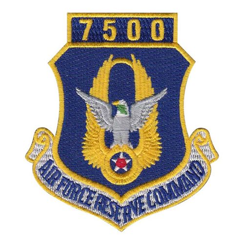 AFRC 7500 Hours Patch