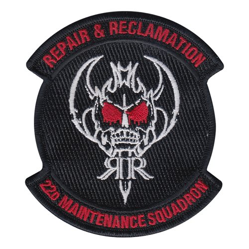 22 MXS Repair and Reclamation Patch