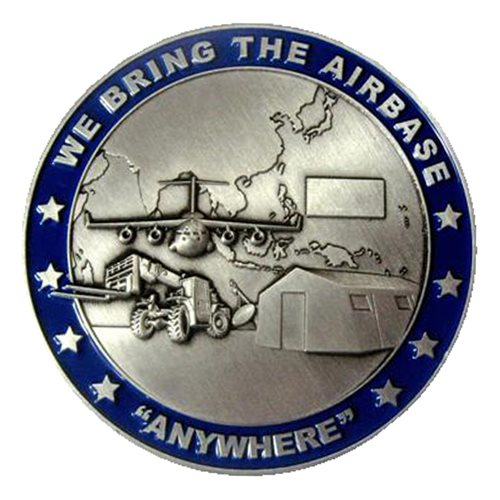 36 MRS Commander Challenge Coin  - View 2