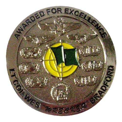 12 CTS Wes Bradford Commander Challenge Coin - View 2