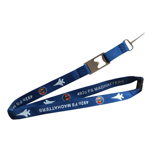492 FS Madhatters Lanyard