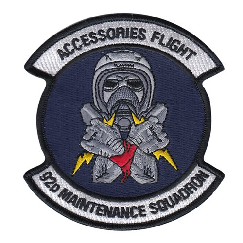 US Air Force 4th Equipment Maintenance Squadron Embroidered Patch LAST FEW