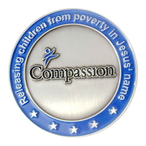 Compassion International Challenge Coin