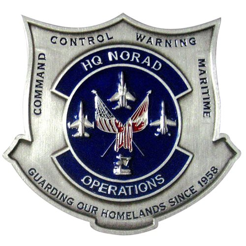 NORAD J3 Operations Challenge Coin - View 2