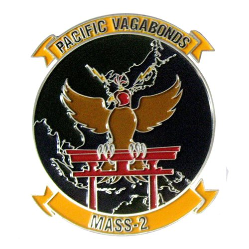 MASS-2 PACIFIC Vagabonds Challenge Coin