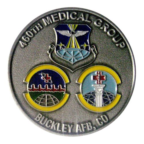 460 MDG Challenge Coin
