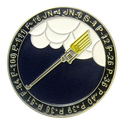 79 Fighter Squadron 100 Year Challenge Coin